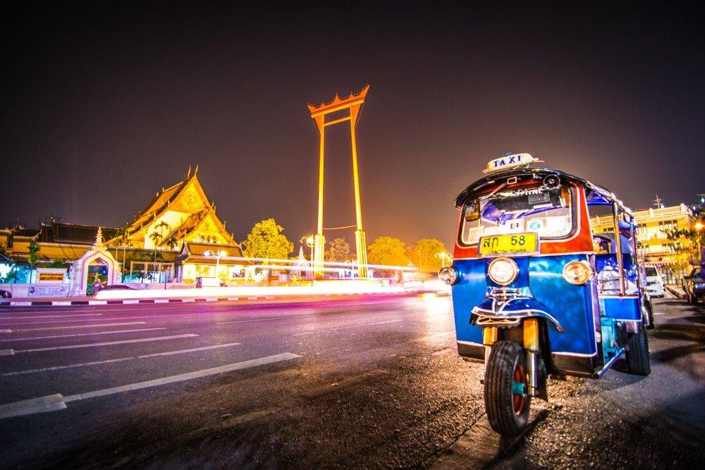 Go on a late-night tuk-tuk street food adventure