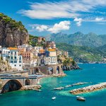 Coastal Road and Villages Along the Amalfi Coast
