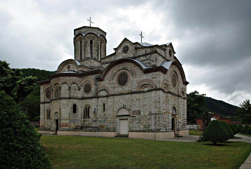 The medieval Ljubostinja Monastery near Vrnjačka Banja