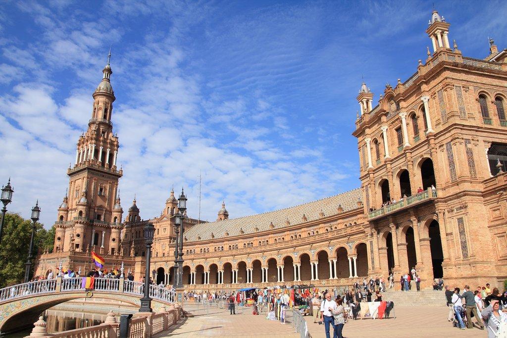 Plaza de España, in Seville