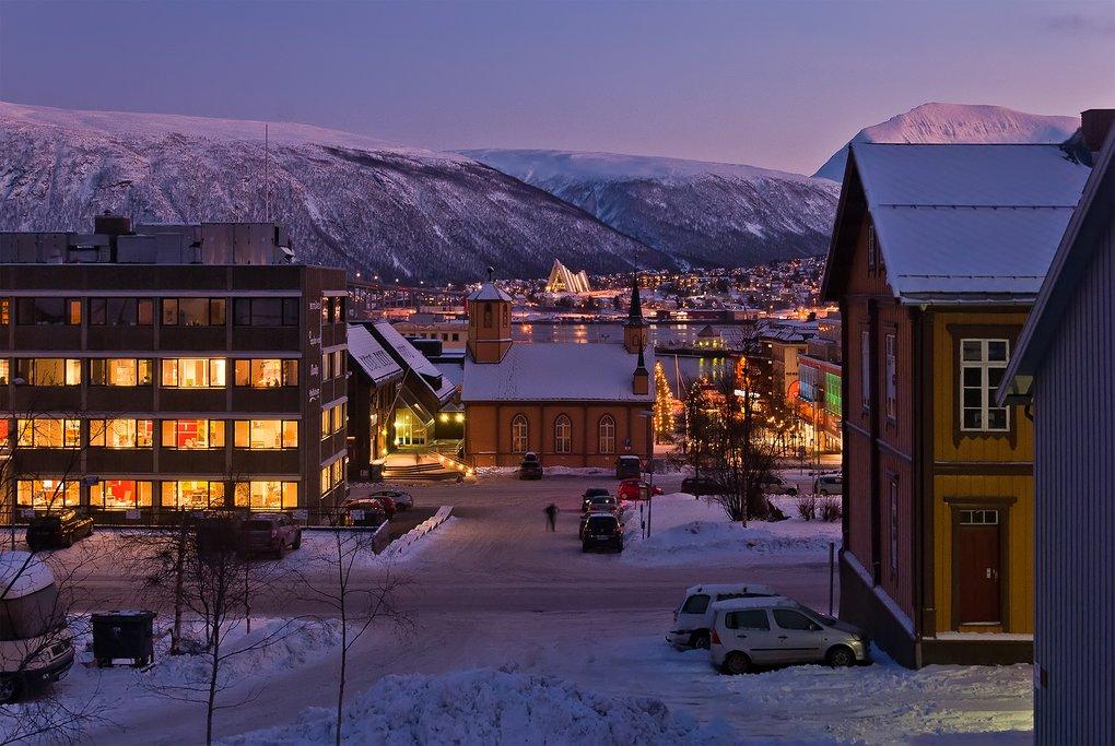 Tromsø's city streets