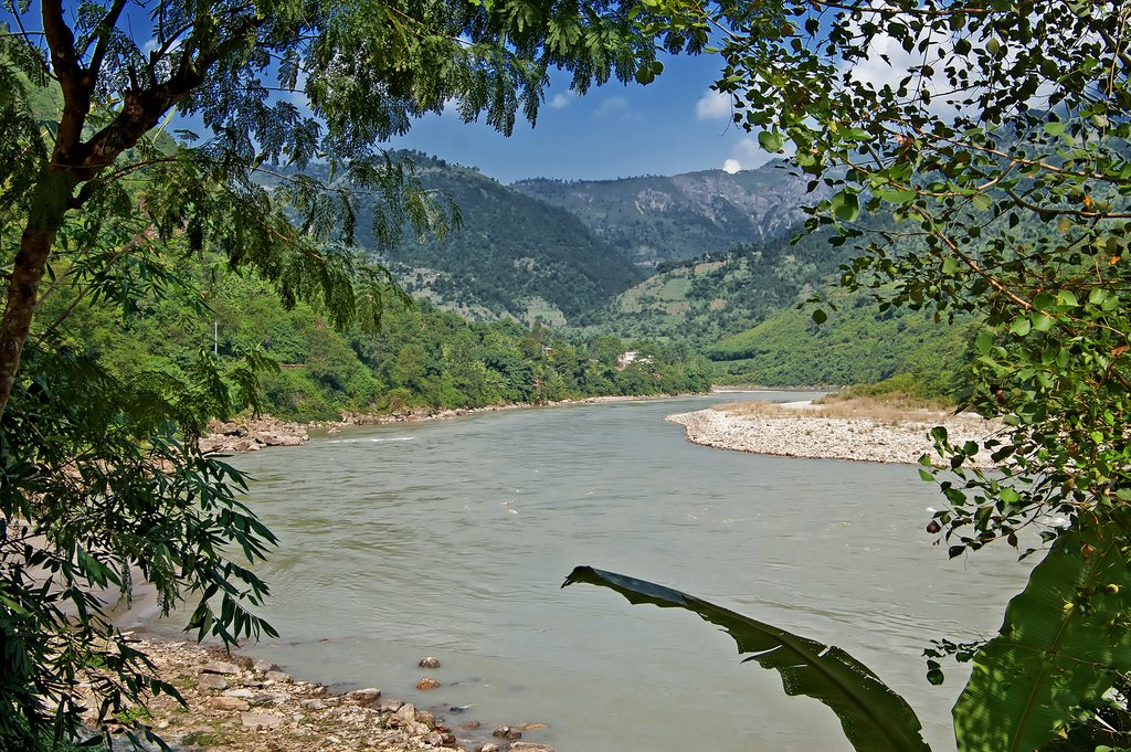 River views along the route