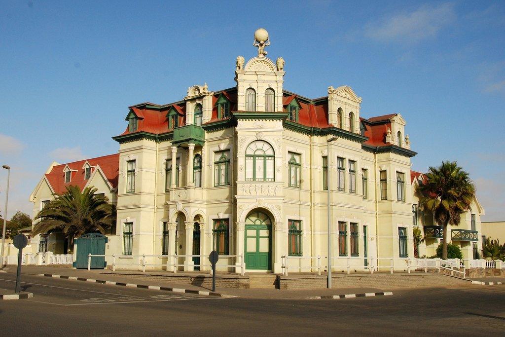 Hohenzollern Building in Swakopmund Namibia