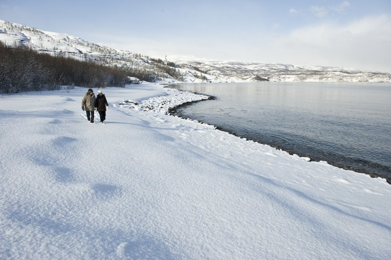Enjoy milder winter temperatures in this part of Norway
