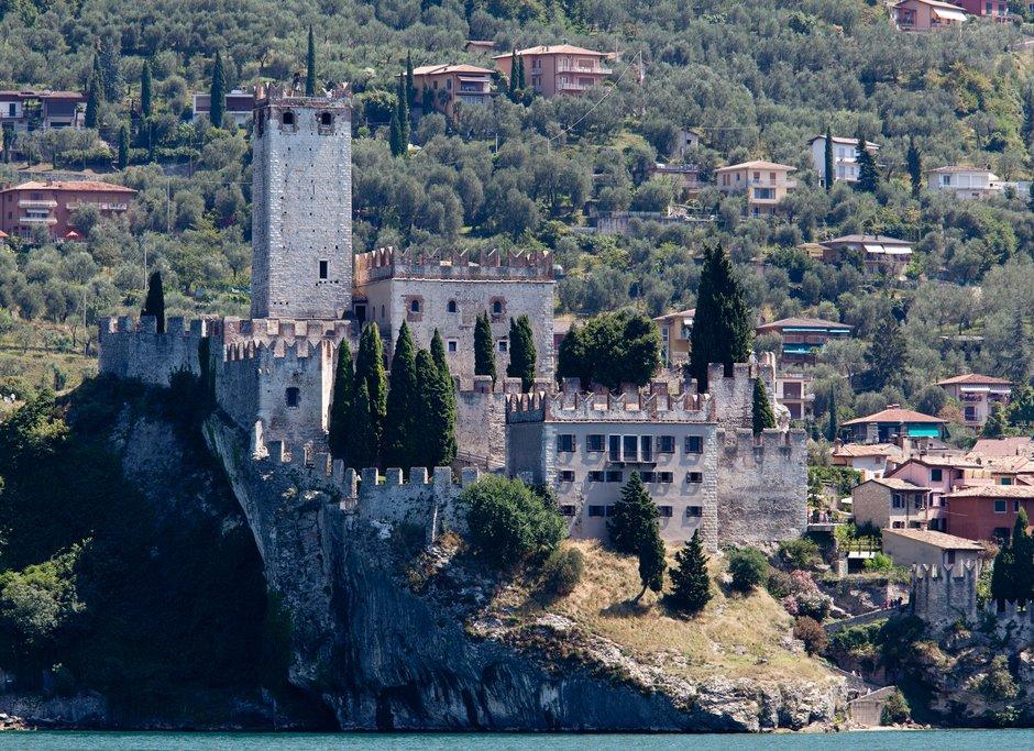 Malcesine castle