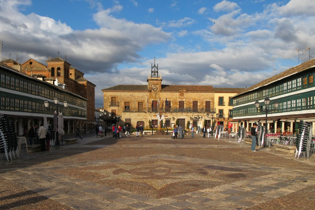 The Plaza Mayor, Almagro