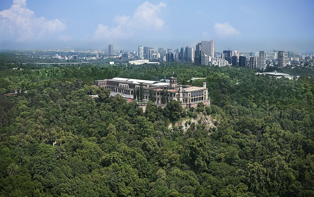 View of the Chapultepec Wood