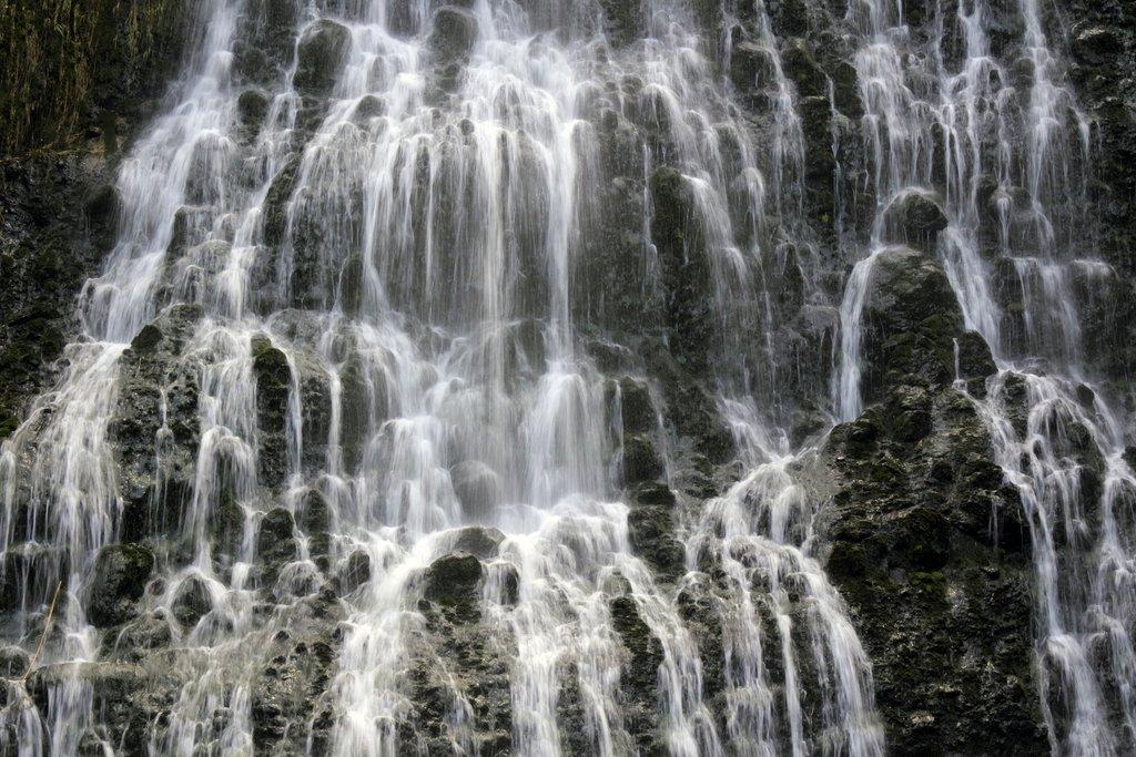 Karekare Falls in the Waitakere Ranges