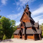 The famous Gol Stave Church