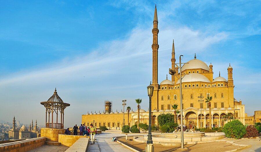 Saladin Citadel in Islamic Cairo