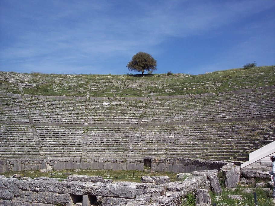 Ancient theater at Dodona