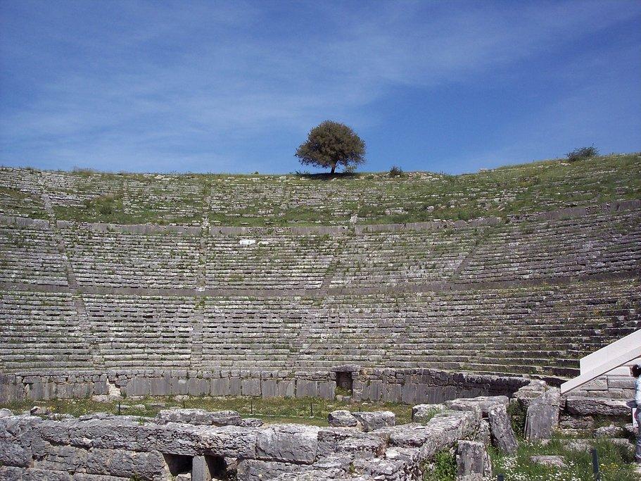 Ancient theater at Dodona