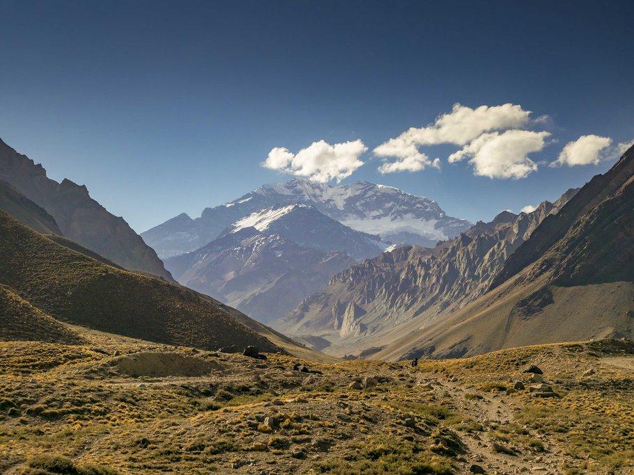 Enjoy the beautiful Andes Mountain Range