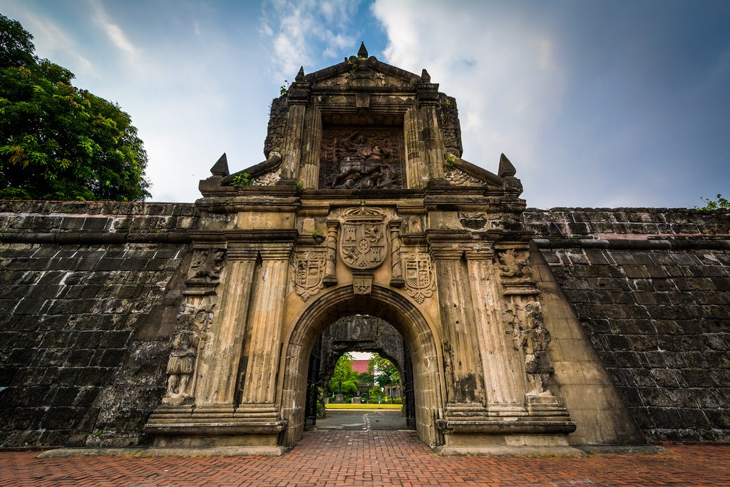 Entrance to Fort Santiago