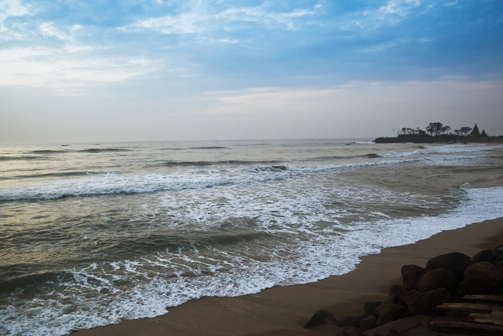 Mahābalipuram Beach, Tamil, India