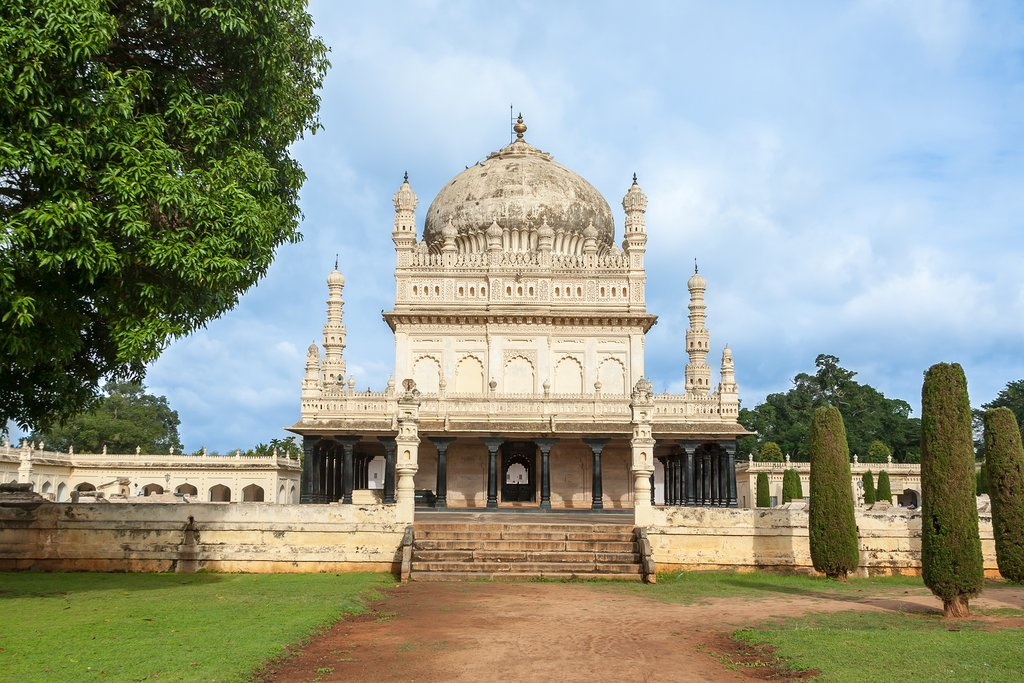 The tomb of Tipu Sultan