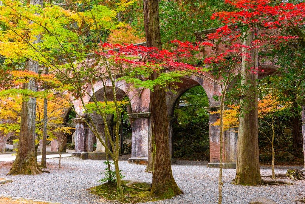 Aqueduct at Nansenji Temple, Kyoto, Japan