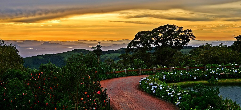 Sunset in Monteverde