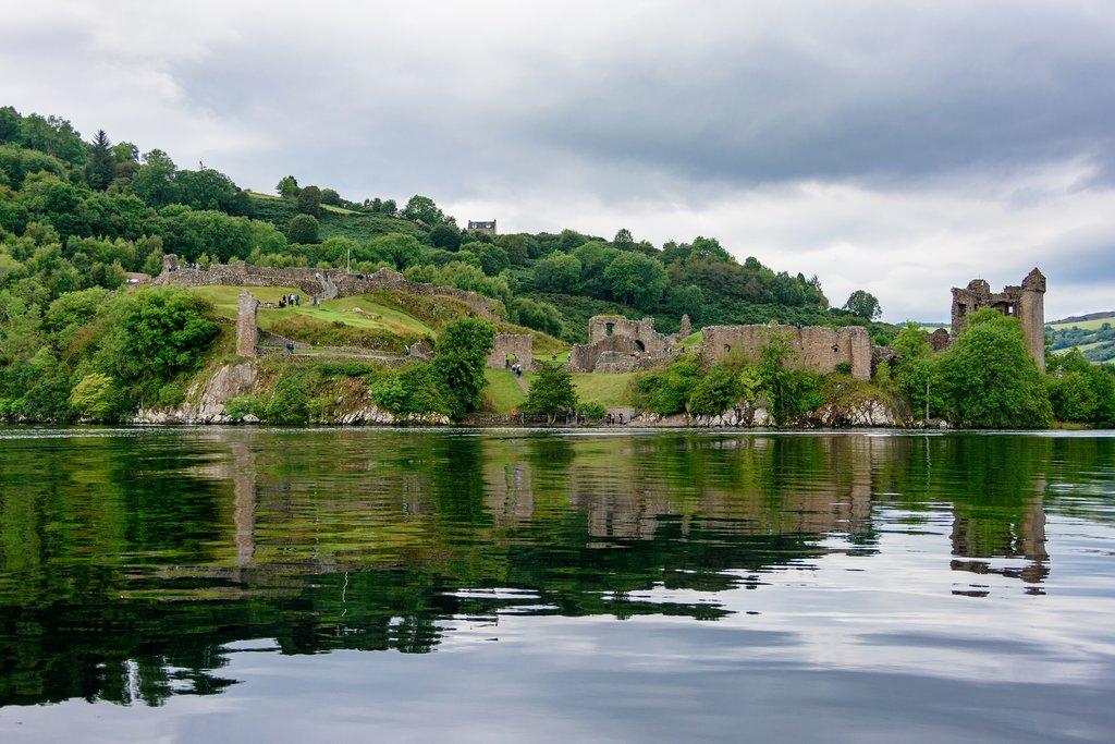 Scotland - Loch Ness - Urqhart Castle