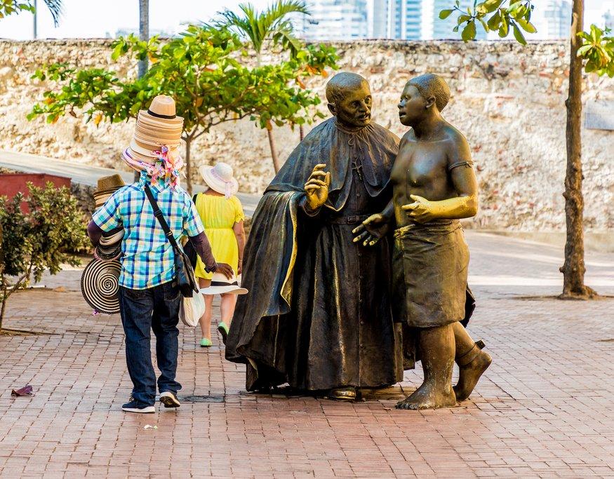 Plaza San Pedro de Claver, Cartagena