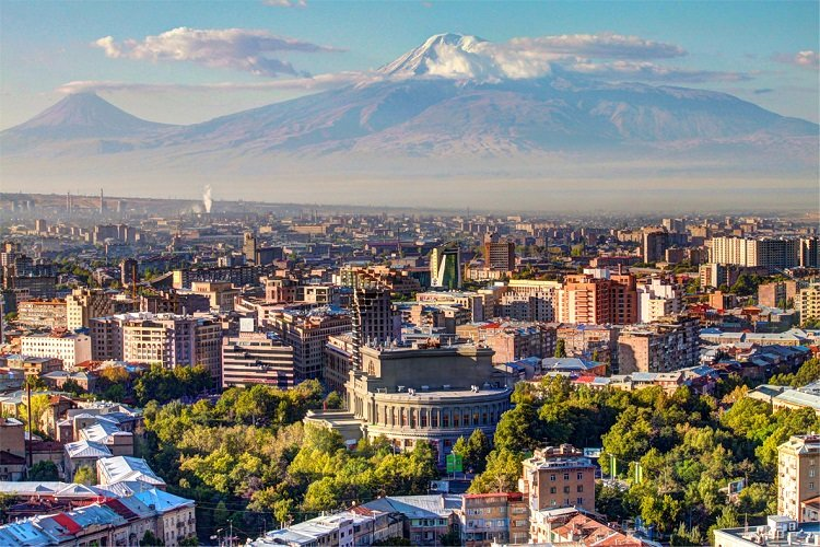 View over Yerevan