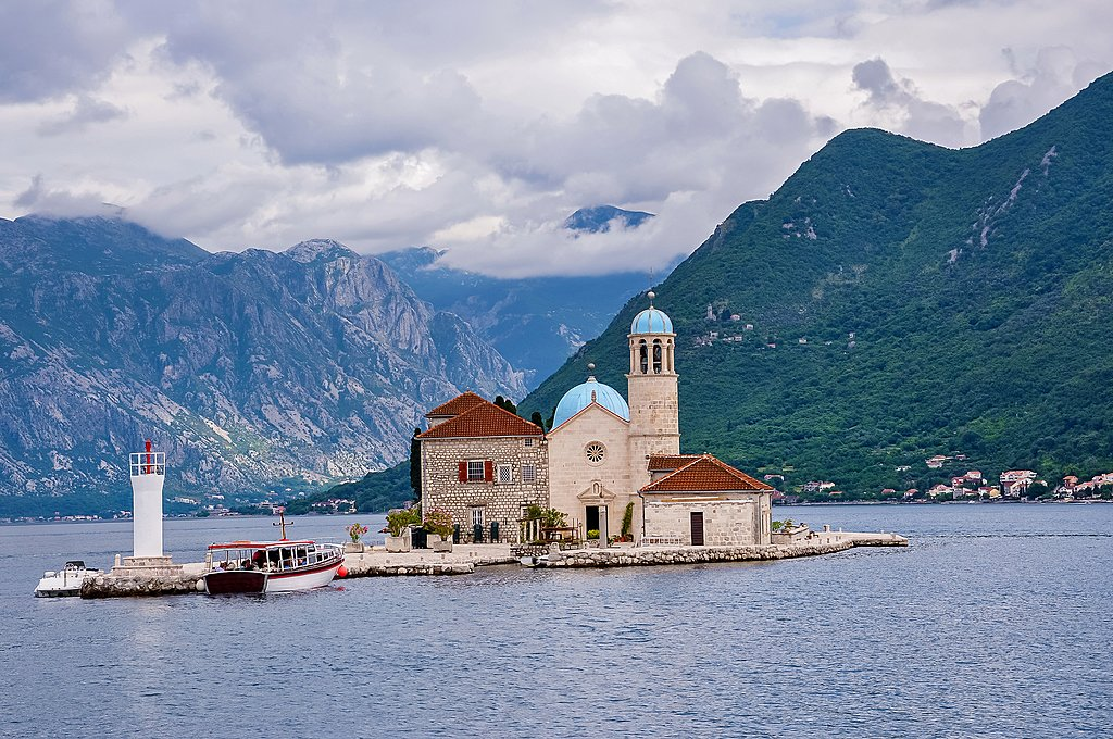 Our Lady of the Rock Island in Perast