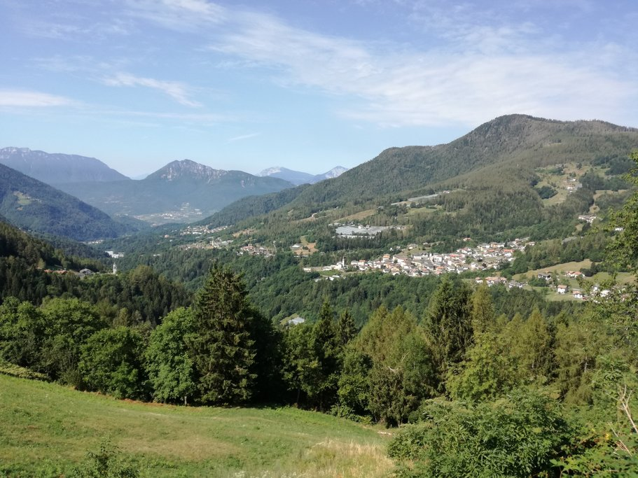 A view of the Valle dei Mocheni