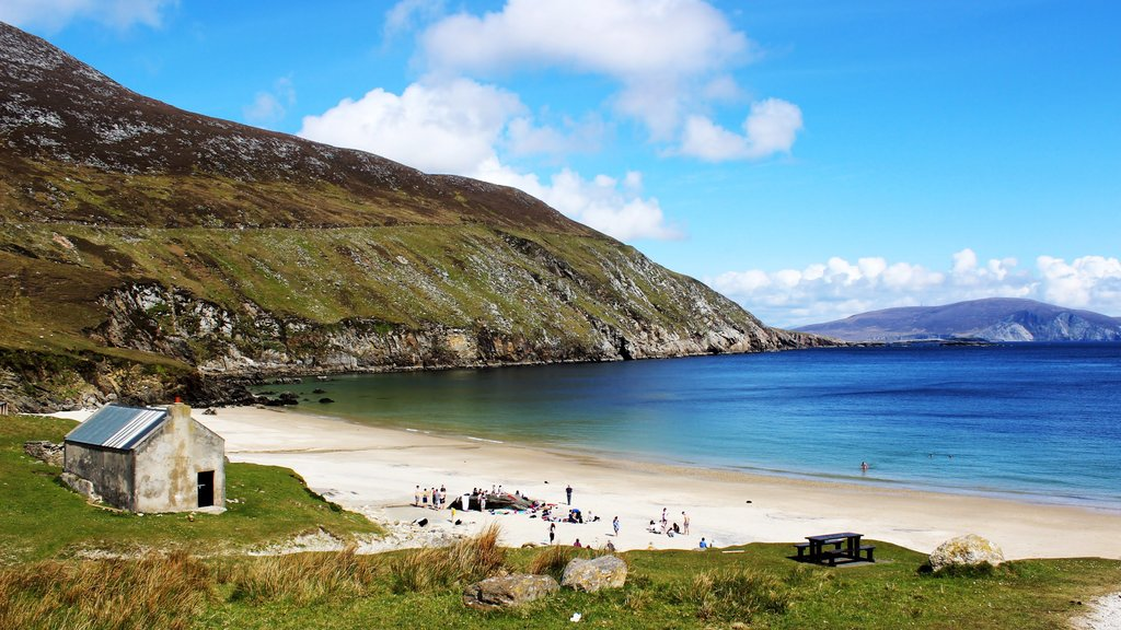 Sunny day on Achill Island