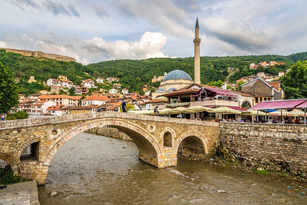 The Old Stone Bridge in Prizren