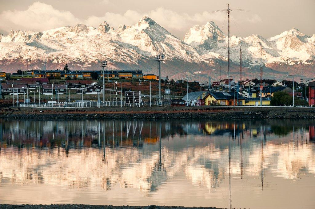 Morning in Ushuaia, Argentina