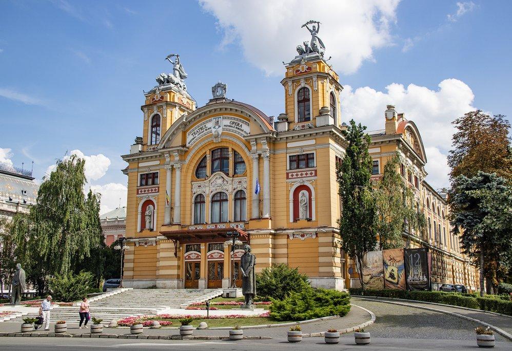 The National Opera House in Cluj