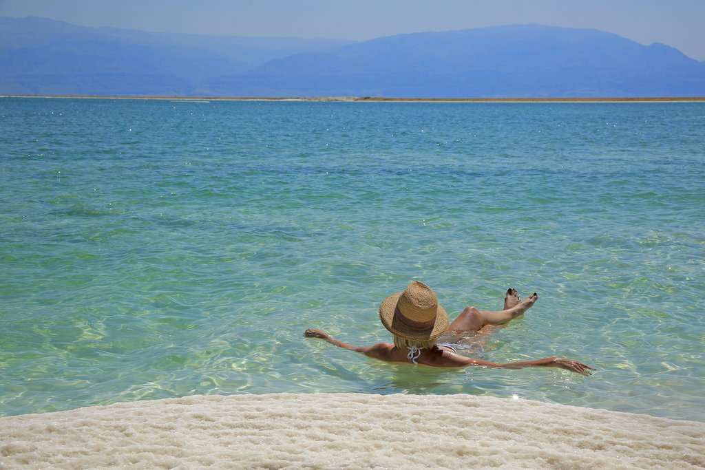 Float in the Dead Sea, Jordan