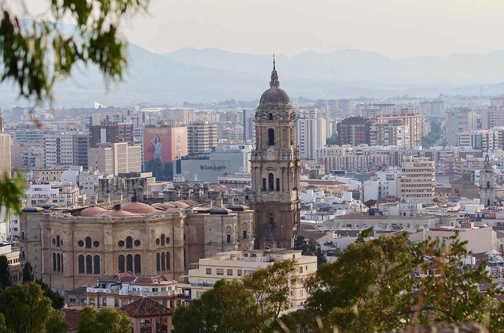 The city of Málaga