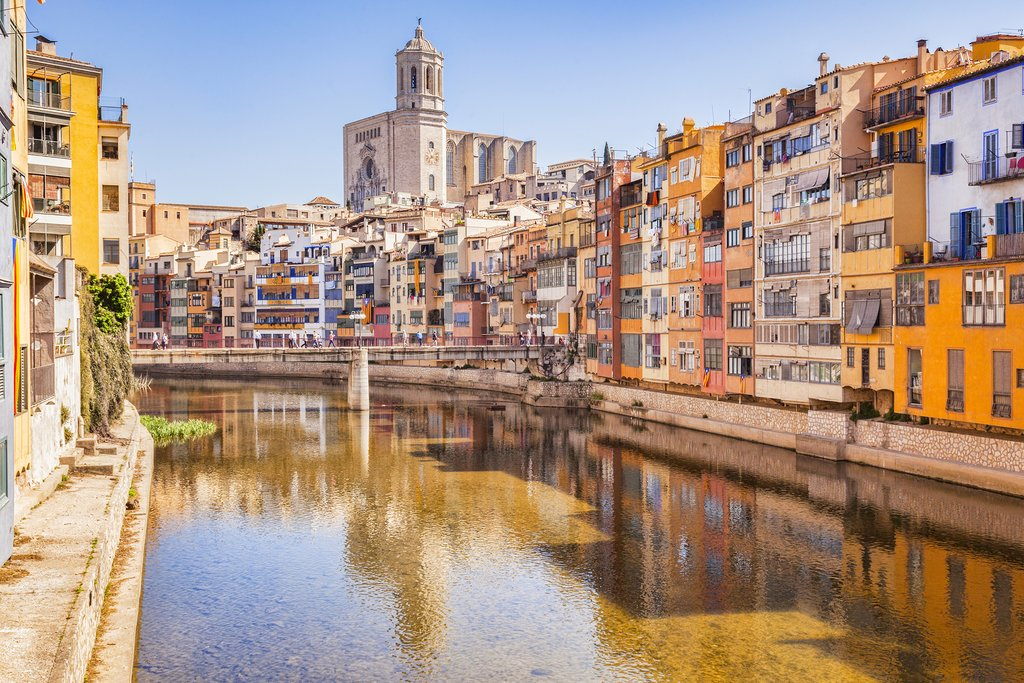 Girona's intriguing riverfront