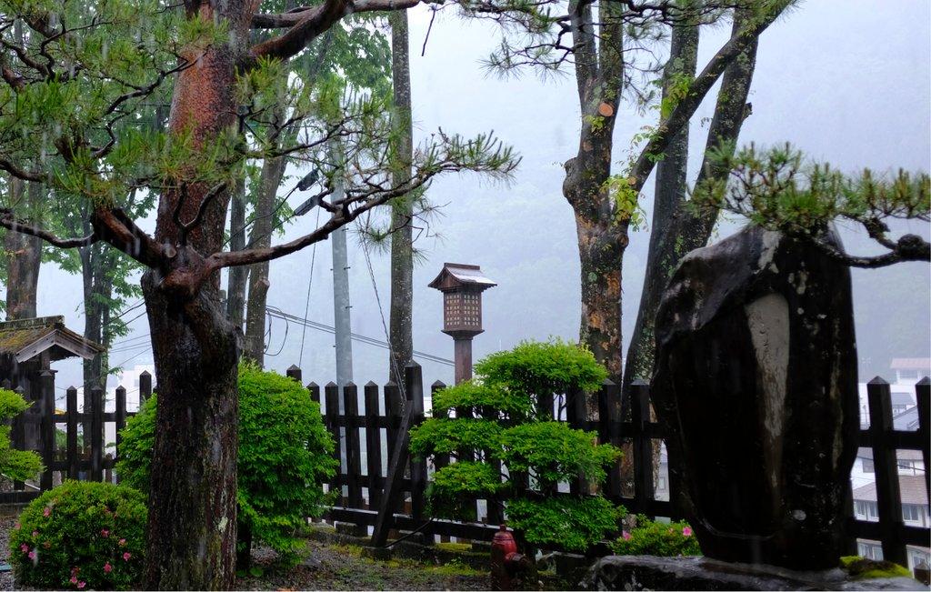 Tranquil Garden in Kiso-Fukushima, Japan, Courtesy of Shutterstock