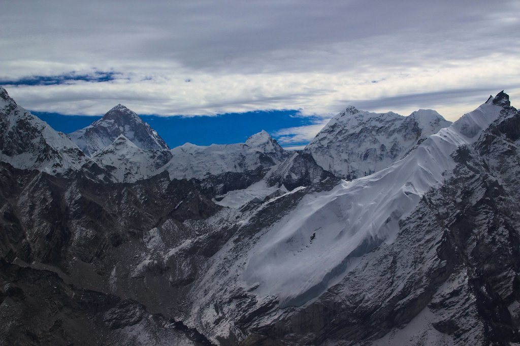 Fly over Everest Base Camp