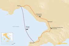 Map thumbnail of How to Get from Sorrento to Naples