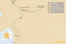 Map thumbnail of Aix-en-Provence Culinary Culture - 5 Days