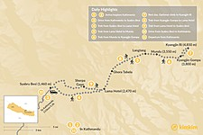 Map thumbnail of Langtang Trek - 14 Days