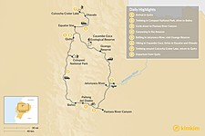 Map thumbnail of Epic Ecuador Multi-Sport Tour - 8 Days