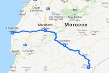Map thumbnail of Southern Morocco Luxury Tour - 8 Days