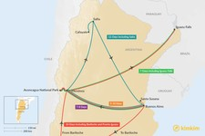 Map thumbnail of Buenos Aires & Mendoza: Best Itinerary Ideas