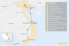 Map thumbnail of Best of Vietnam - 14 Days