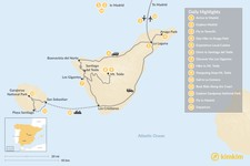 Map thumbnail of Explore Madrid and the Canary Islands: Tenerife and La Gomera - 14 Days