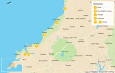 Map thumbnail of Walk the Northern Cornish Coast: Bude, Tintagel & Padstow - 6 Days