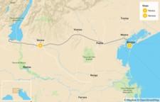 Map thumbnail of Highlights of Venice, Verona & Lake Garda - 5 Days