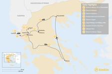 Map thumbnail of Enchanting Northern Greece and Corfu - 9 Days