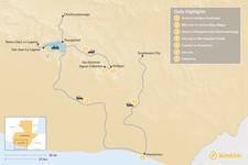 Map thumbnail of Guatemala: Summit to Shoreline - 7 Days
