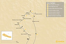 Map thumbnail of Pikey Peak Trek: A Short Trek with Great Views of Everest - 9 Days
