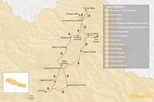 Map thumbnail of Upper Mustang Trek - 15 Days